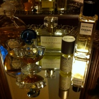 Grandmother's Perfume Tray